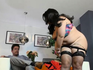 British BBW Sarah Jayne Fucks Tattooed Stud