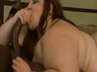 BBW Sucks Another Big Cock