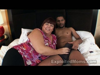 Busty Maure BBW has Stuffed By Black Cock